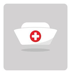 Nurse hat icon vector