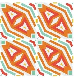 Seamless geometric rhombus vector image
