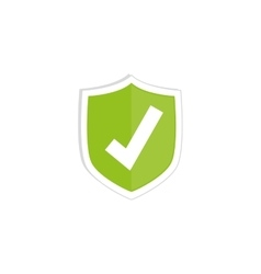 Approval check symbol vector