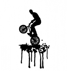 Bmx jump vector