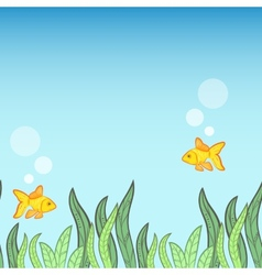 Underwater game background vector