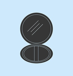 Puff box icon vector