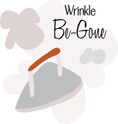 Wrinkle be-gone vector