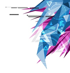 Abstract polygon background02 vector