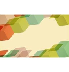 Bright transparent gradient background colorful vector