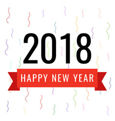 celebration for happy new vector image
