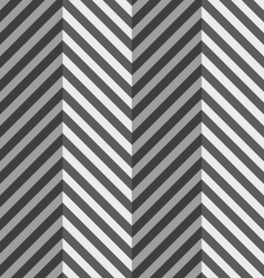 Geometrical pattern with gray and black zigzag vector image