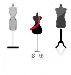 mannequin vector image vector image
