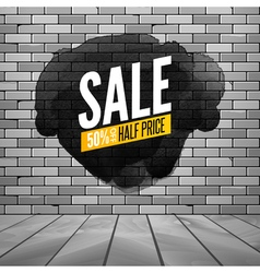 Super sale wall poster grunge sale background for vector