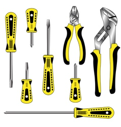 tools graphic vector image vector image
