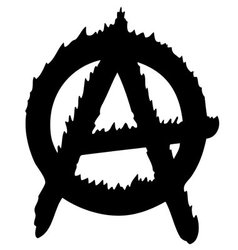 Anarchy logo vector