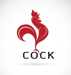 Image of an cock design vector