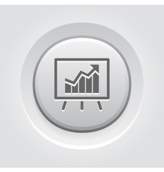 Business analytics icon vector