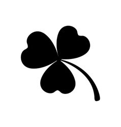 Clover or shamrock icon image vector