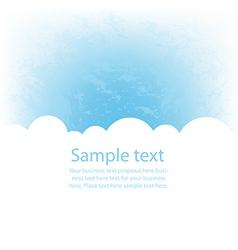 eps10 cloud vector image