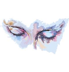 Female Eyes vector image vector image