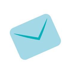 Message envelope cartoon draw vector