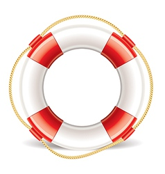 object lifebuoy vector image