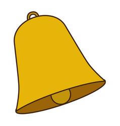 Opaque color bell figure design vector