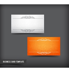 Business card template set 63 vector