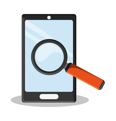 Cyber secuirty smartphone search vector