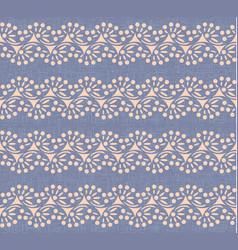 swirl lines polka dot canvas seamless pattern vector image