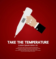 Take the temperature vector