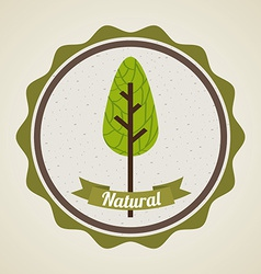 Natural design vector