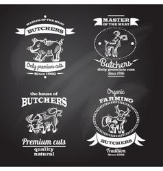 Farm Label Set vector image