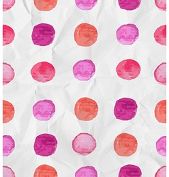Seamless watercolor spot background vector