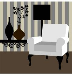 Home interior vector