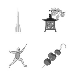 Business port ecology and other monochrome icon vector