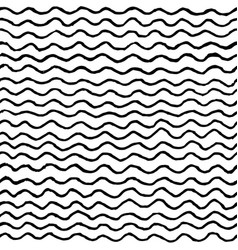 irregular waves pattern vector image vector image