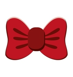single bowtie icon vector image