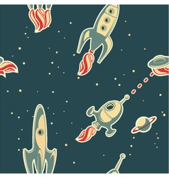 spaceman background vector image vector image