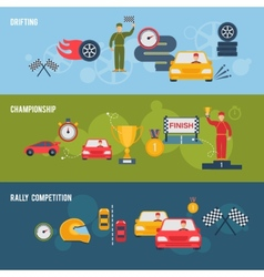 Auto Sport Banner vector image