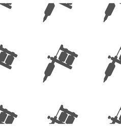 Tattoo machine pattern vector