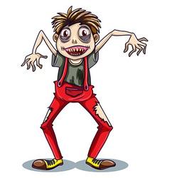 A dancing zombie vector