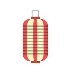 Chinese lantern isolated vector