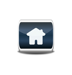 Home icon button vector