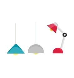 Room Lighting Equipment vector image