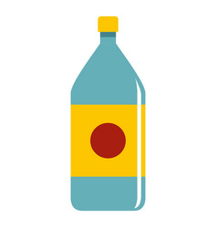 water bottle icon isolated vector image