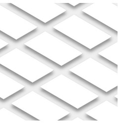white empty rectangles vertical orientation app vector image vector image