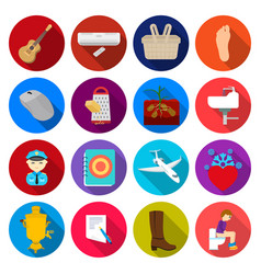 Tourism business hobbies and other web icon in vector