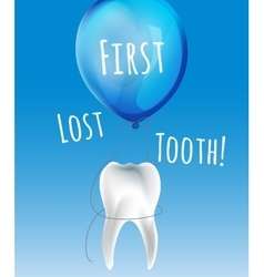 First lost tooth vector