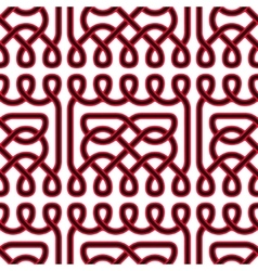Seamless celtic or scandinavian pattern vector