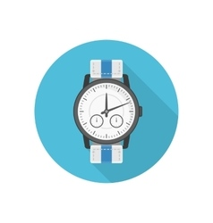 Wrist watches icon vector