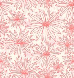 Pink flowers vector
