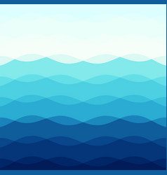 Abstract blue tone background with curve lines vector
