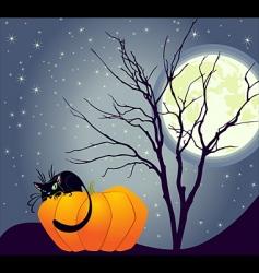 halloweentime vector image vector image